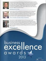 2013 Business Excellence Awards
