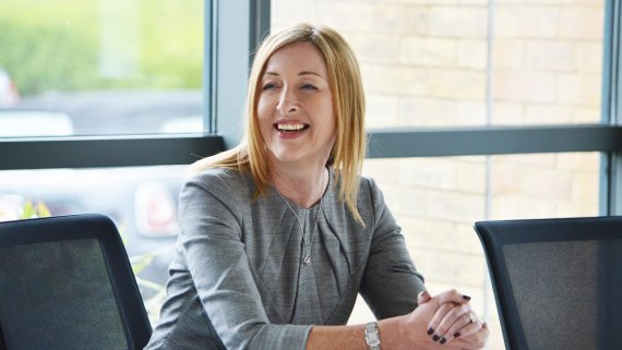 Ruth Jacobs is the managing director Randstad Business Solutions