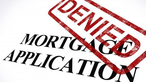 mortgage denied