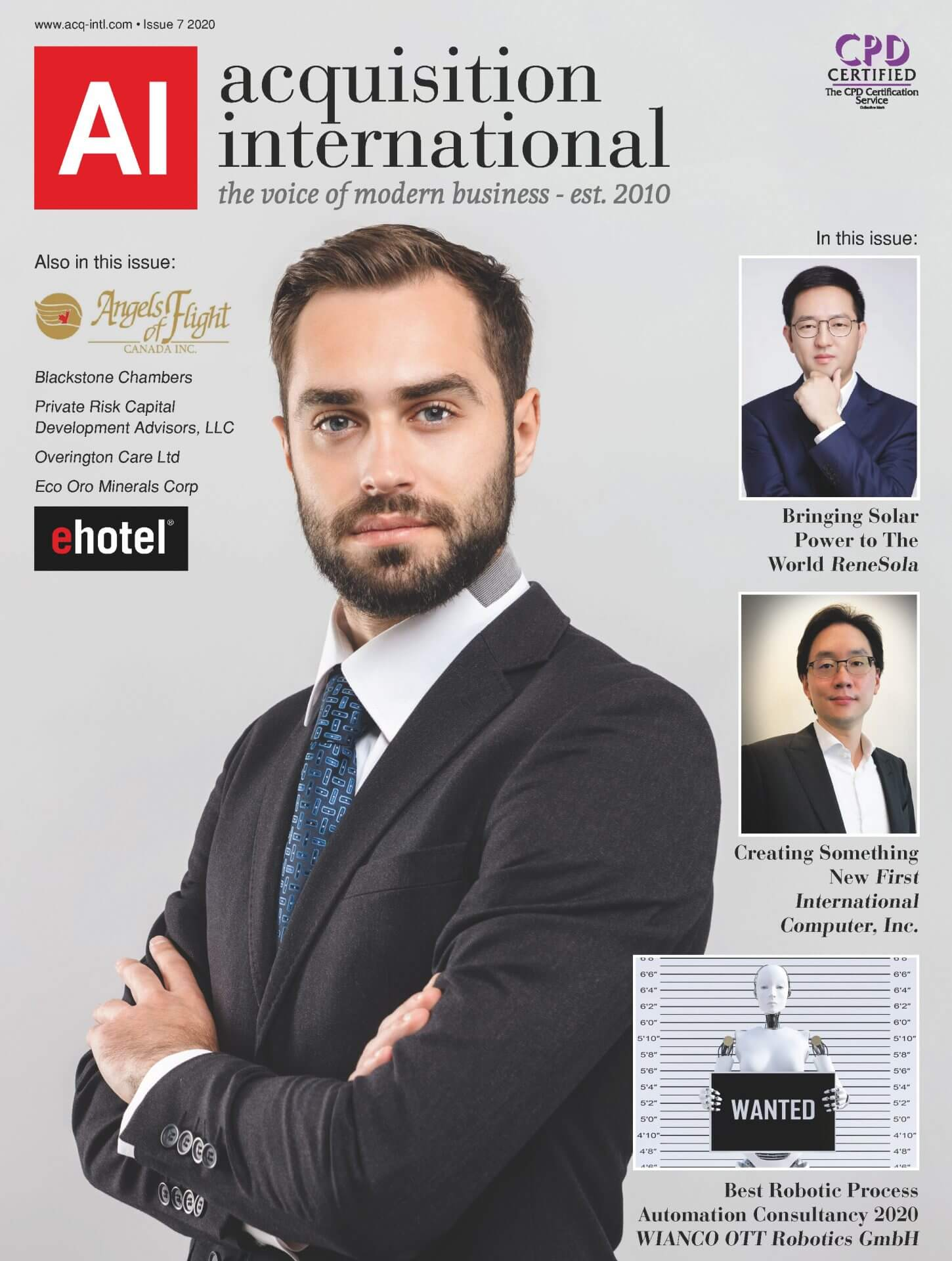 AI Magazine Issue 7 2020 cover
